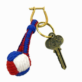 DETAIL - monkey knot key ring