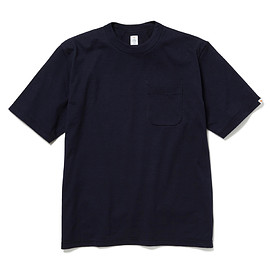 HEAD PORTER PLUS - POCKET TEE NAVY