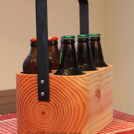 Craft Carriers - Solid Wood 6-Pack