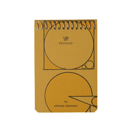 POSTALCO - Notebook for OPENING CEREMONY
