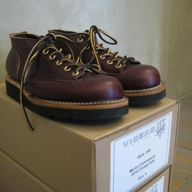 VIBERG - Lace To Toe Oxford Boots