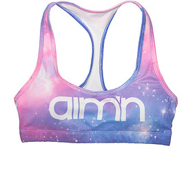 aim'n - Galaxy Logo Bra
