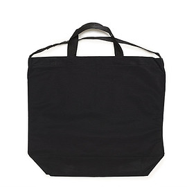 ENGINEERED GARMENTS - Carry All Tote W/Strap-Cotton Double Cloth-Black