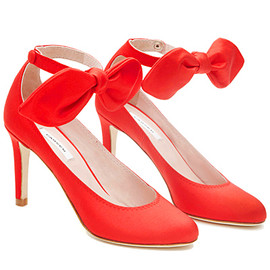 Carven - Red Bow Shoes - 2013 Pre-Spring