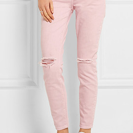 Current Elliott - pink jeans
