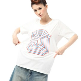 ANREALAGE - SHELL GIRL T-SHIRTS