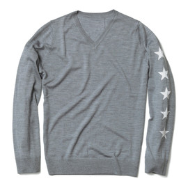 uniform experiment - FIVE STAR V NECK KNIT