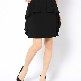 G.V.G.V. - TUCK&RUFFLE MINI SKIRT