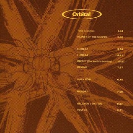 Orbital - Orbital (BROWN ALBUM)