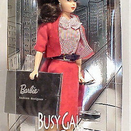 Barbie - 1995 Busy Gal Vintage Barbie Reproduction