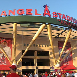 california - Angel Stadium of Anaheim