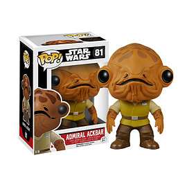 FUNKO - POP! - Star Wars The Force Awakens  Admiral Ackbar