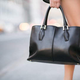 Tod's - Tod's D-Cube Shopping Medium Leather Tote