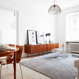 my scandinavian home: A beautiful Stockholm apartment with mid-century touches - my scandinavian home: A beautiful Stockholm apartment with mid-century touches