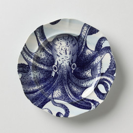 Anthropologie - From The Deep Salad Plate, Octopus