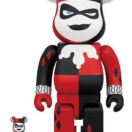 MEDICOM TOY - BE@RBRICK HARLEY QUINN(BATMAN The Animated Series Ver.) 100% & 400%