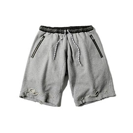 MAGIC STICK - DAMAGED CHILLIN SHORTS(GRAY)