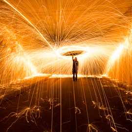 Simon Berger - Light Painting