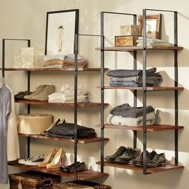 POTTERY BARN - CLOSET WALL SHELF