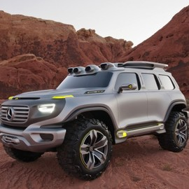 Mercedes-Benz - Mercedes Benz  Ener-G force Concept car
