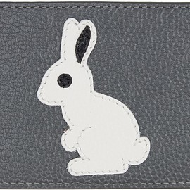 Thom Browne - Grey Animal Icon Card Holder