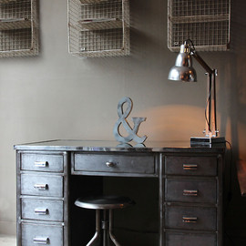 attic - Vintage Industrial Desk.