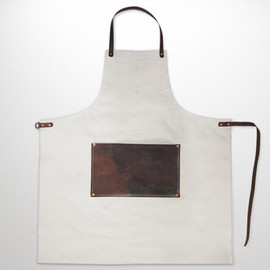Stanley & Sons - LEATHER LAP APRON