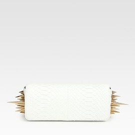 Christian Louboutin - Marquise Python Clutch