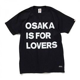 HEAD PORTER PLUS - OSAKA IS FOR LOVERS TEE BLACK