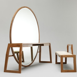 Buhr - Mirror Table Bench