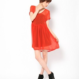 ROSE BUD - (EVIL TWIN)5ET0713 DRESS