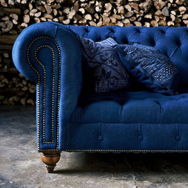 RALPH LAUREN HOME - ENGLISH CHESTERFIELD SOFA