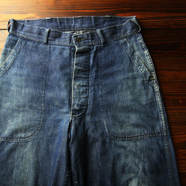 40s U.S.N Denim Trousers