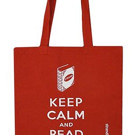 Strand Book Store - Tote Bag: Keep Calm Red Tote Bags & Pouches