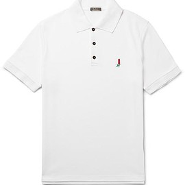 Berluti - Slim-Fit Cotton-Piqué Polo Shirt