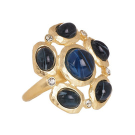 Kenneth Jay Lane - Karat Gold-Plated Crystal Ring
