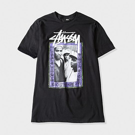 Stussy, A Tribe Called Quest - Represent Represent Tee - Black