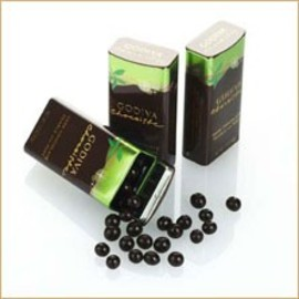 GODIVA - Dark Chocolate Pearls with Mint