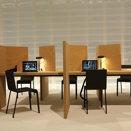 Ronan & erwan Bouroullec - Cork desk Collection for Vitra