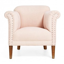 ABC Home & Planet - Pure Vintage Pink Hemp Armchair
