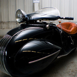 1930 Custom Built Art Deco Henderson Motorcycle