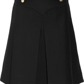 Altuzarra - Winston Pleated Wool Blend-Skirt