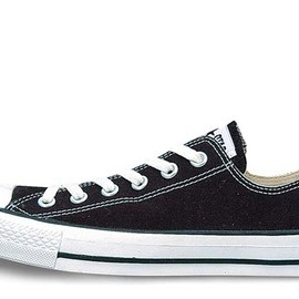 CONVERSE - CANVAS ALL STAR OX black