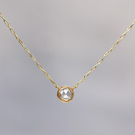 source - 4mm Rosecut Diamond Necklace