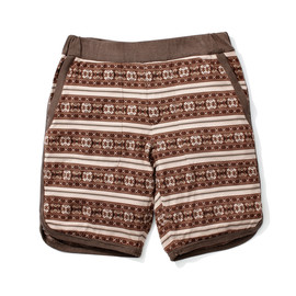 White Mountaineering - COTTON JACQUARD SHORT PANTS