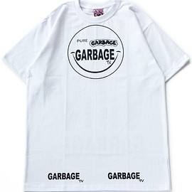 GARBAGE tv - OFU Please Short Sleeved Tee (white)