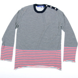 JUNYA WATANABE COMME des GARCONS MAN - Four Button Roll Up Sweater