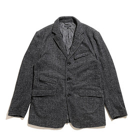 ENGINEERED GARMENTS - Andover Jacket-Poly Wool HB-Grey