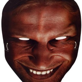 Warp Records - Richard D. James promo mask/Aphex Twin