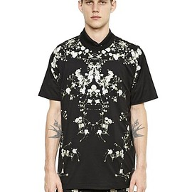 GIVENCHY by Riccardo Tisci - floral printed columbian fit Tee